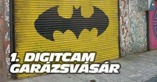DigitCam garázsvásár