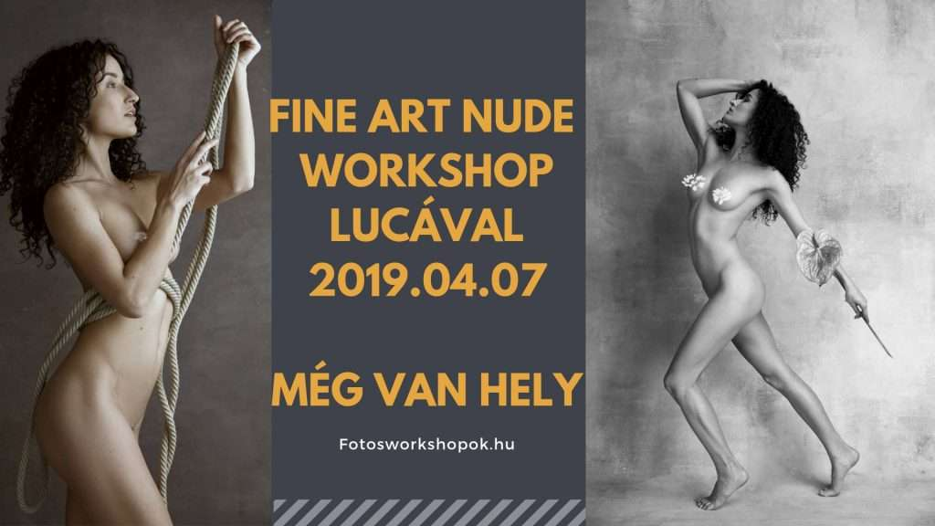 Fine Art Nude Workshop Lucával