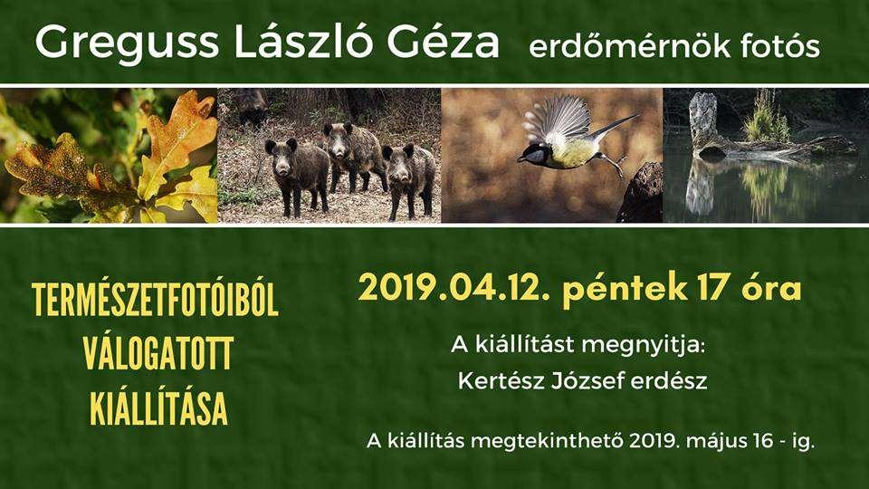 Greguss László Géza: Természetfotóiból válogatott kiállítása – megnyitó