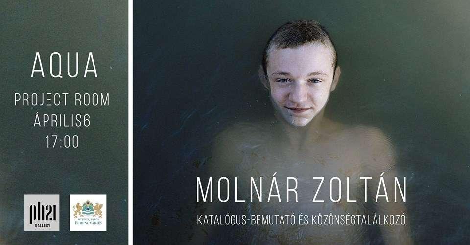 Molnár Zoltán :: Aqua :: Könyv-bemutató és közönségtalálkozó