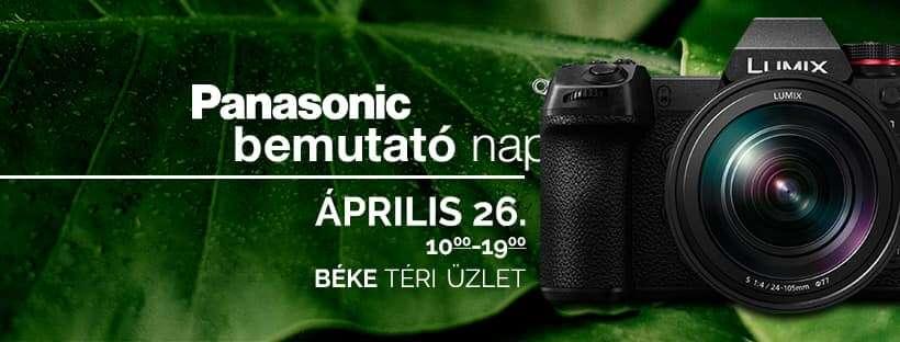 Panasonic nap • Újdonság: Lumix S DC-S1 • Kedvezmények •