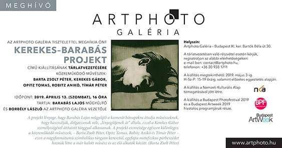 Tárlatvezetés az Artphoto Galériában