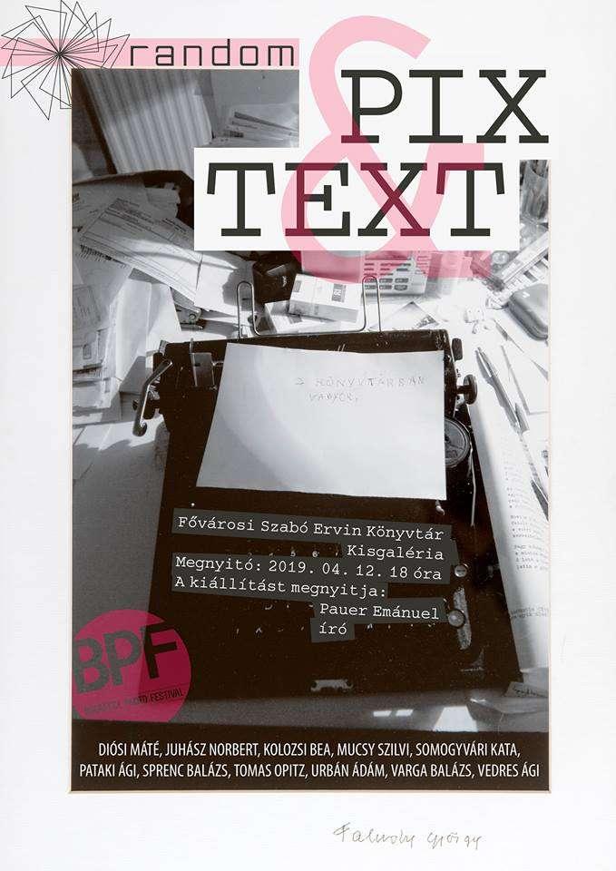 Pix & Text – A Random csoport kiállítása