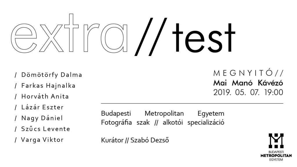 Extra//test – Kiállításmegnyitó