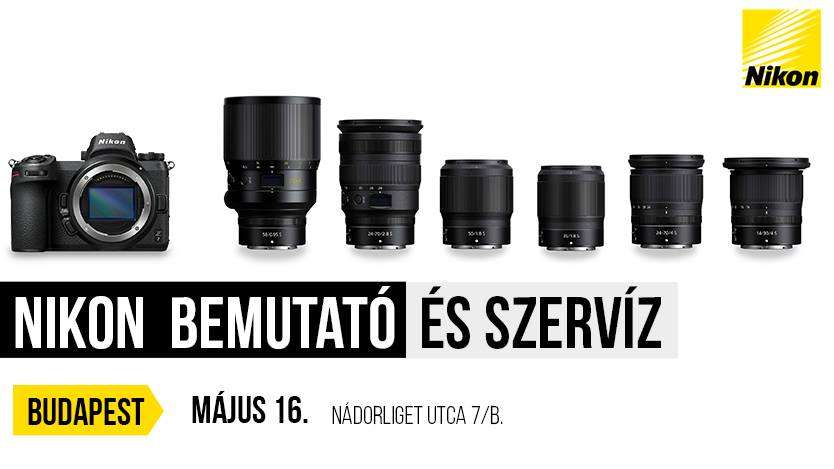 Nikon bemutató Budapesten