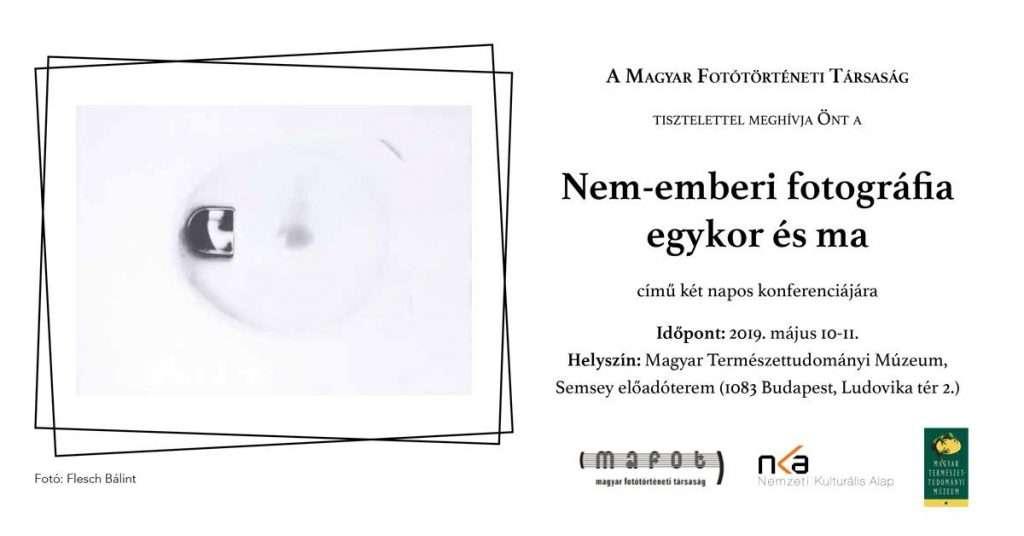 Nem-emberi fotográfia egykor és ma – Fotótörténeti konferencia