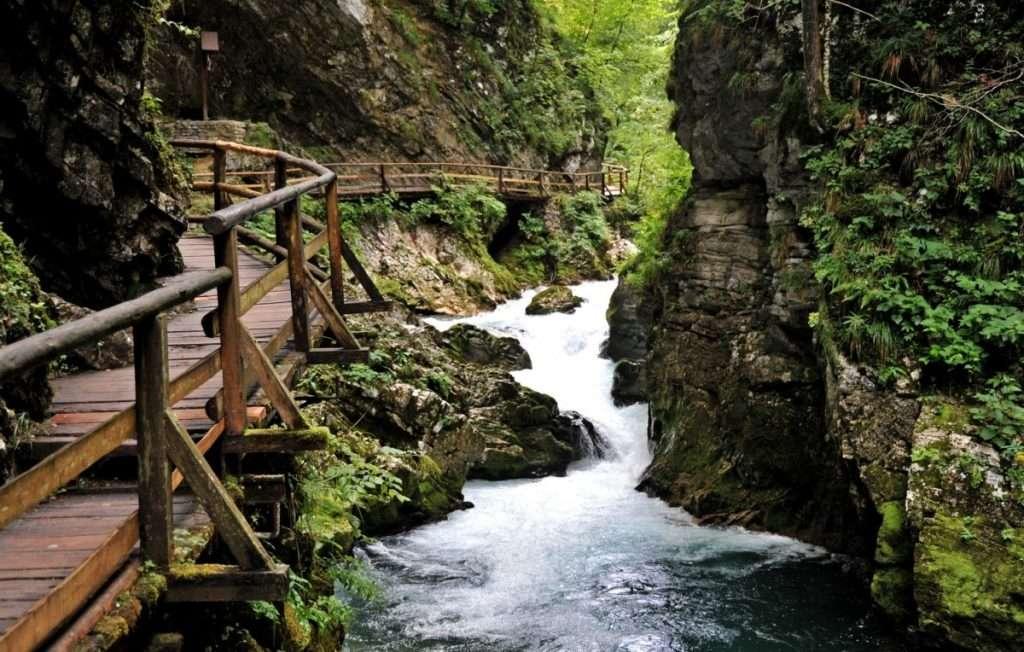Vintgar szurdok és Bled-Bohinj (Szlovénia), gyalogos túravezetés