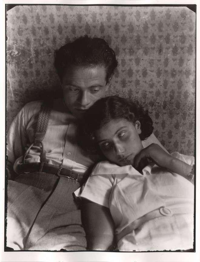 Fotó: Ismeretlen: Haár Ferenc és felesége, Iric, 1934 © Magyar Fotográfiai Múzeum