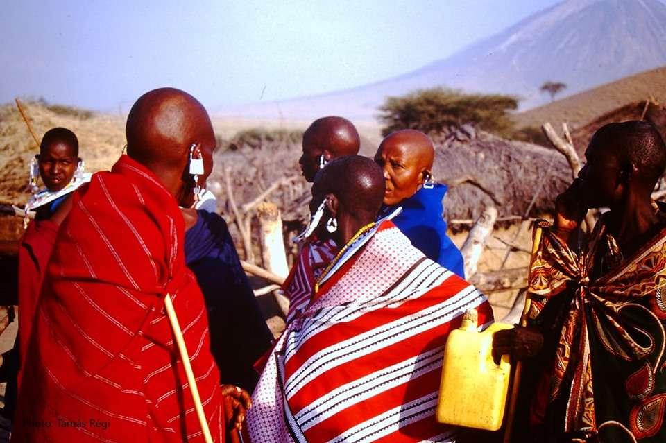 Terep szafari Észak-Tanzániában