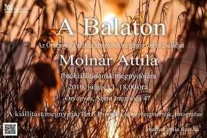 Molnár Attila: A Balaton – fotókiállítás