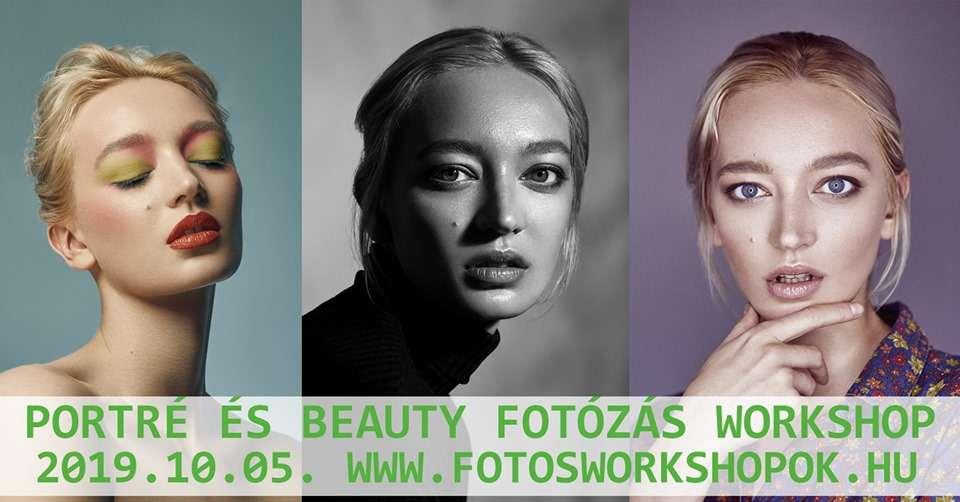 Portré és beauty fotózás alapjai Bevezetés a stúdiófotózásba II