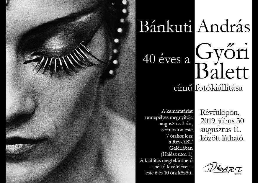 Győri Balett – Bánkuti András fotókiállítása