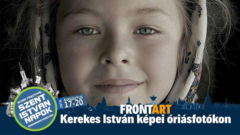 Frontart – Kerekes István képei óriásfotókon
