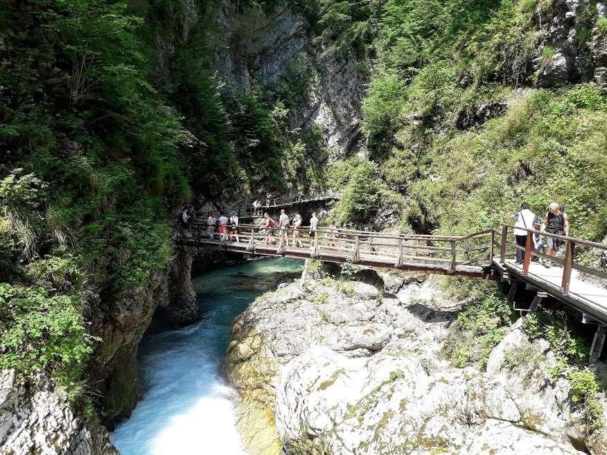 Vintgar, a szlovén Grand Kanyon, és környéke