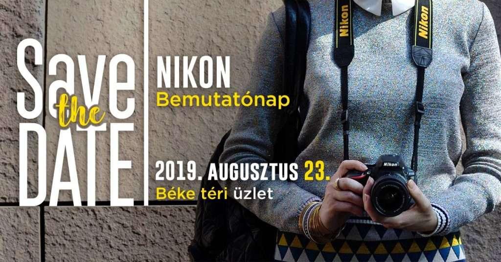 Nikon Bemutatónap és szenzortisztítás
