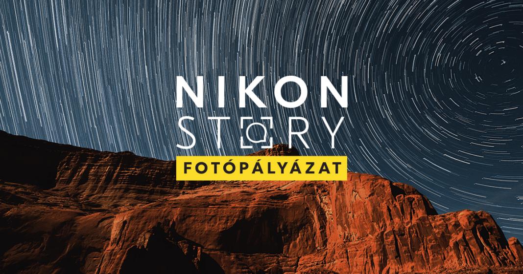 Nikon story logos illusztracio