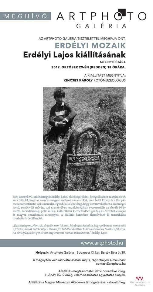 Erdélyi Mozaik – Erdélyi Lajos kiállítása