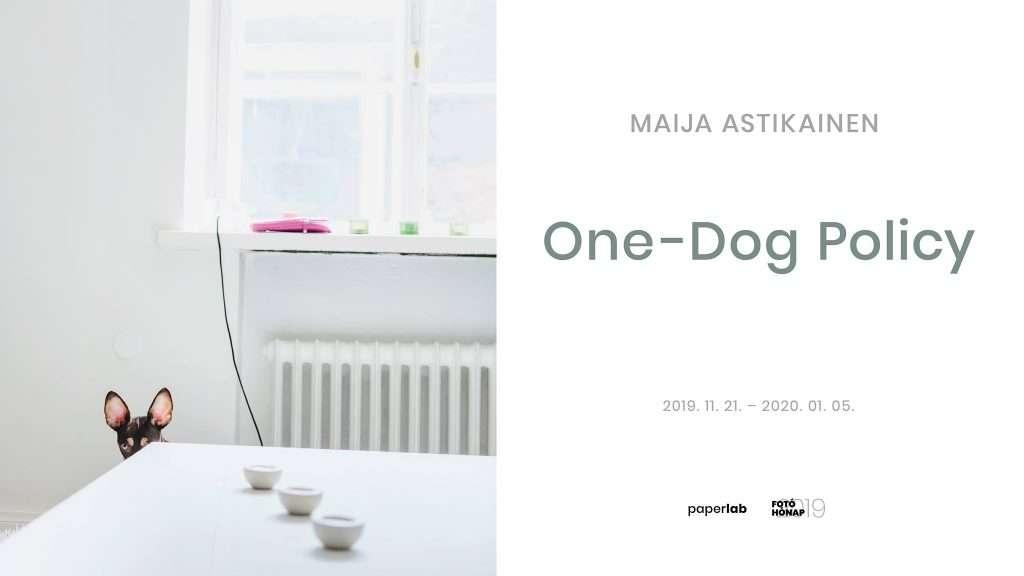 Maija Astikainen: One-Dog Policy