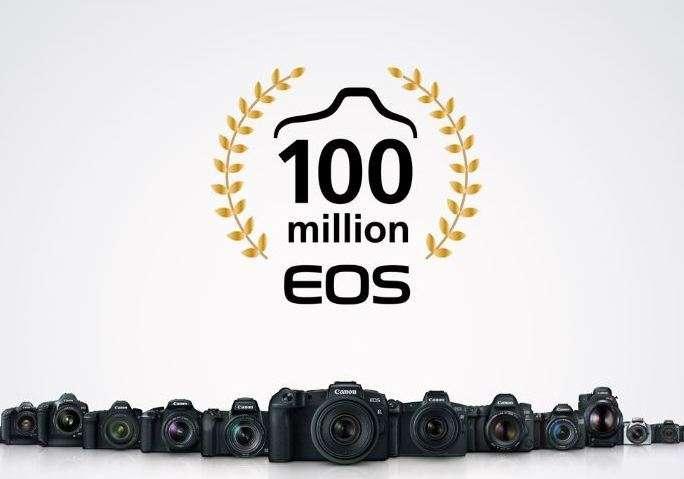 Canon celebrates Million EOS Interchangeble Lens Cameras