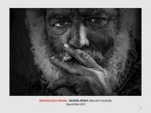 sopianae rd catalogue Bezdán József Cigarettázó férfi