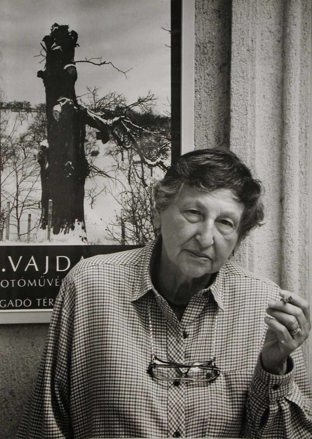 Fotó: Tóth József: Reismann Marian otthonában, 1989 © Magyar Fotográfiai Múzeum