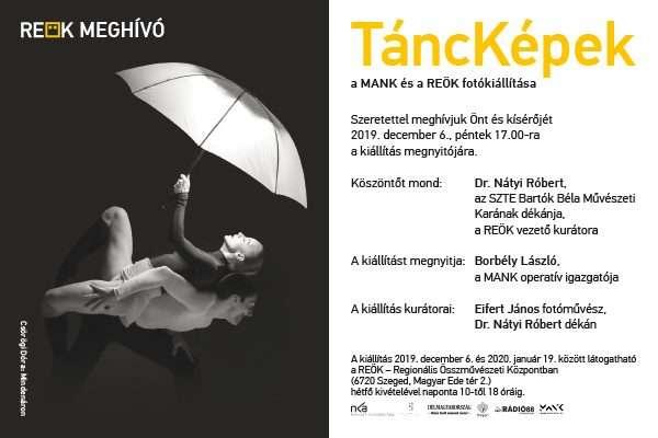 TáncKépek- kortárs fotóművészek kiállítása a REÖK-ben
