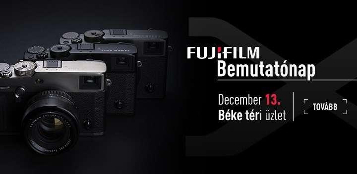 Fujifilm bemutatónap | újdonság: X-Pro3