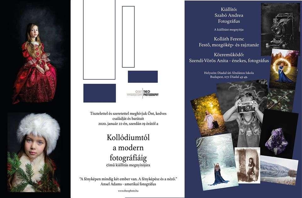 Szabó Andrea: Kollódiumtól a modern fotográfiáig
