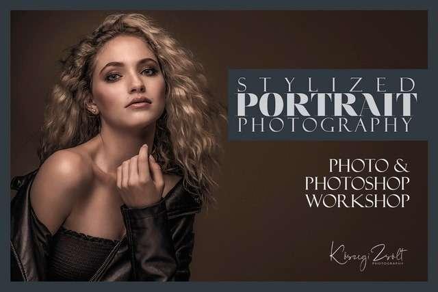 Művészi portréfotózás és stilizált retusálás workshop