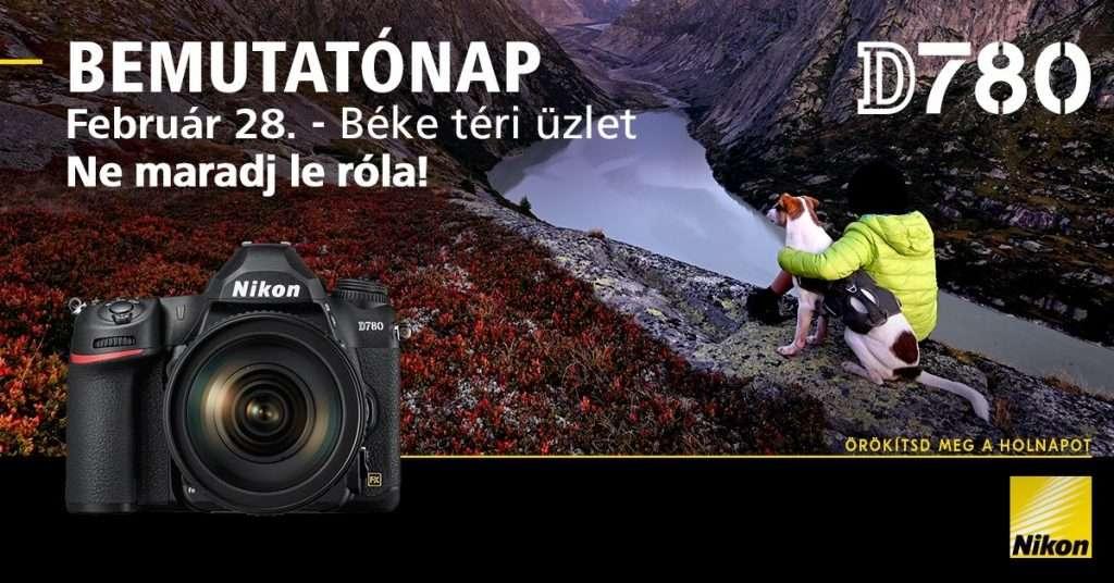 Nikon D780 bemutatónap
