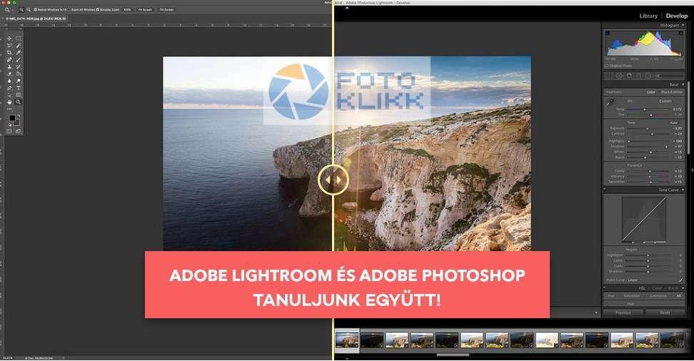 FotoKlikk Társalgó: Vas Gergely Lightroom és Photoshop előadása