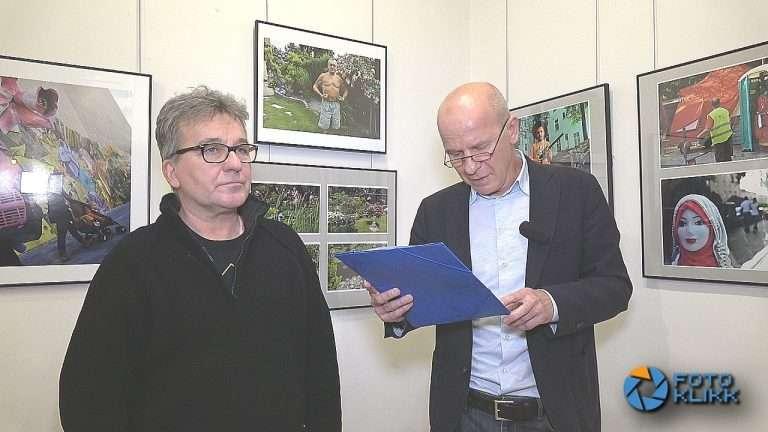 Stalter György – Kertek Berlin Neukölln – kiállításmegnyitó felvételről