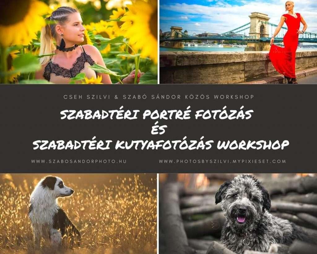 Portré és Kutyafotózás workshop