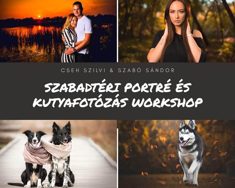 Szabadtéri Portré és Kutyafotózás workshop 2.Turnus