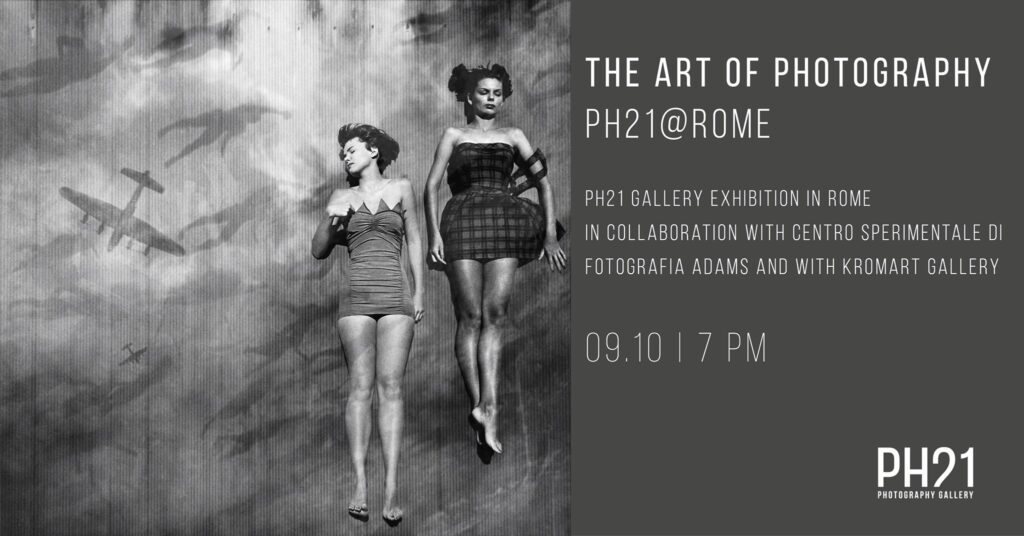 The Art of Photography x PH21 x KromArt Gallery x Rome