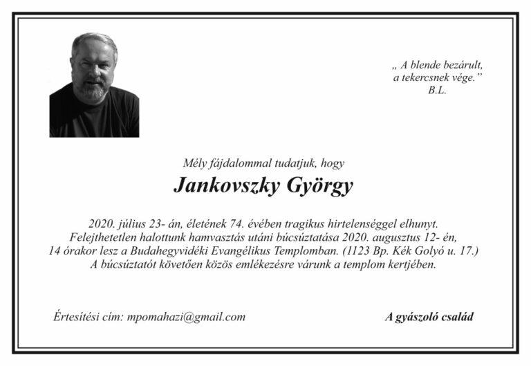 Jankovszky György