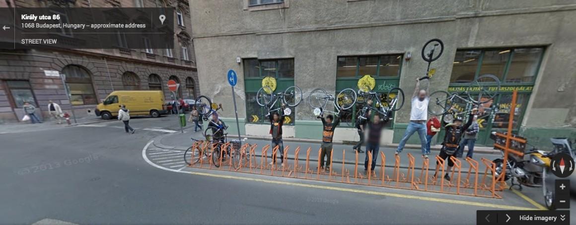Fotó: Google Street View <br />Magyarország, Budapest, Király u.
