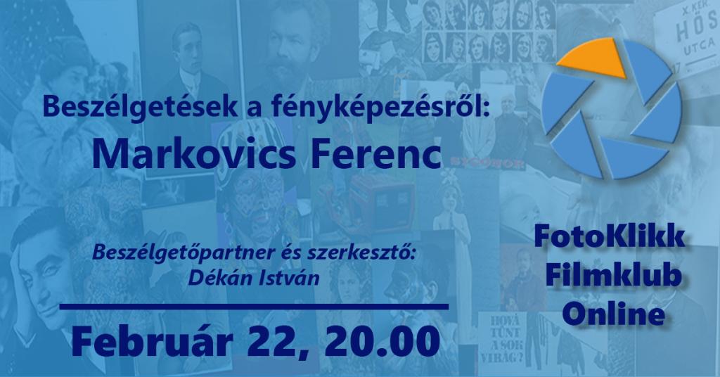 Markovics Ferenc – Beszélgetések a fényképezésről
