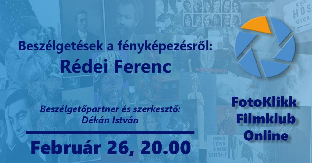 Rédei Ferenc – Beszélgetések a fényképezésről