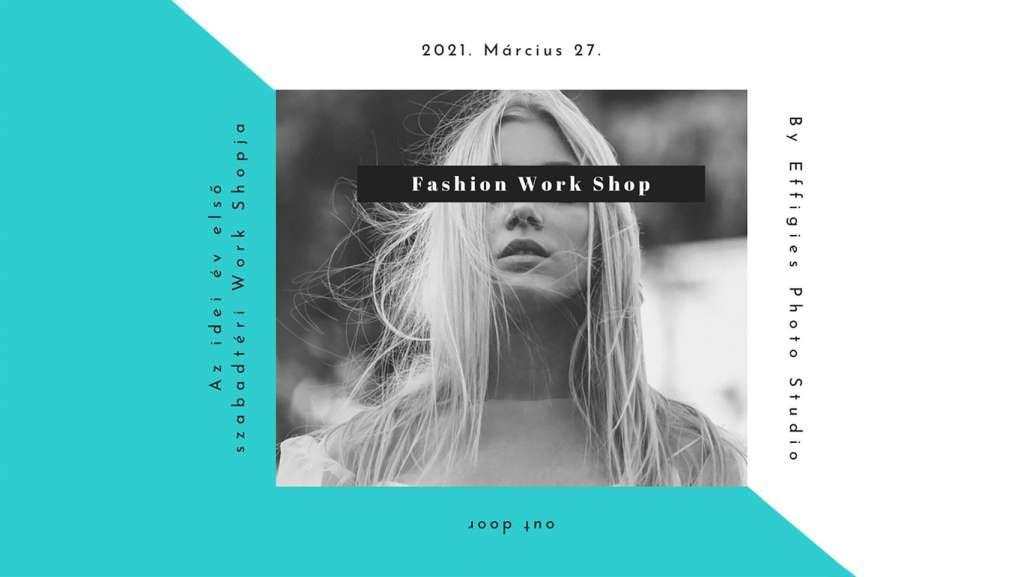 Fashion Editorial Workshop