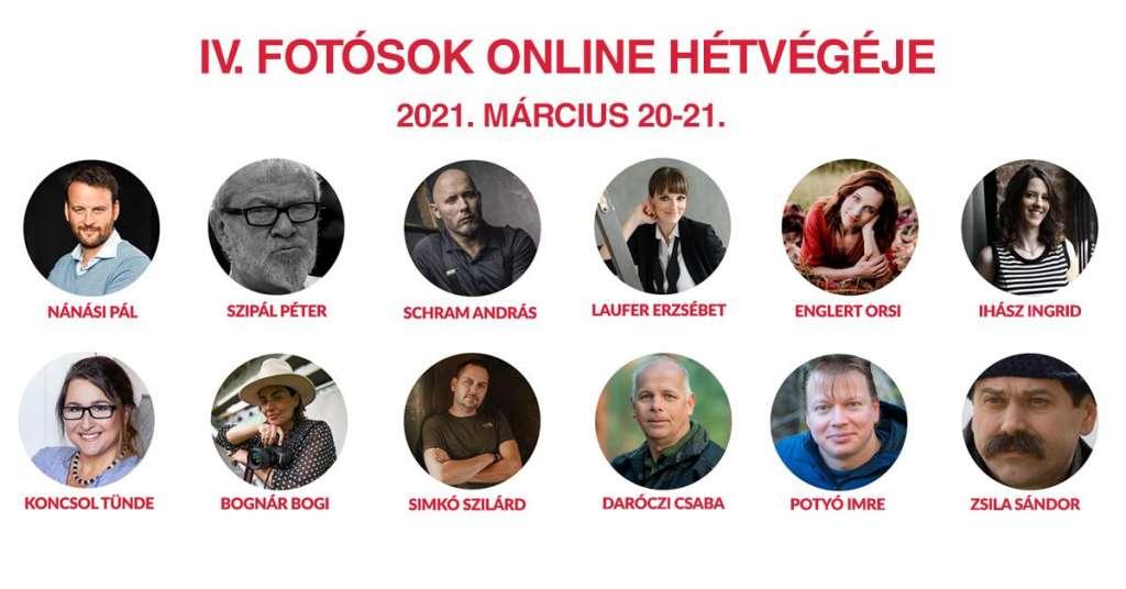 IV. Fotósok Online Hétvégéje
