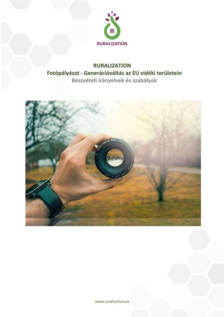 Nemzetközi Fotópályázat – Generációváltás az EU vidéki területein