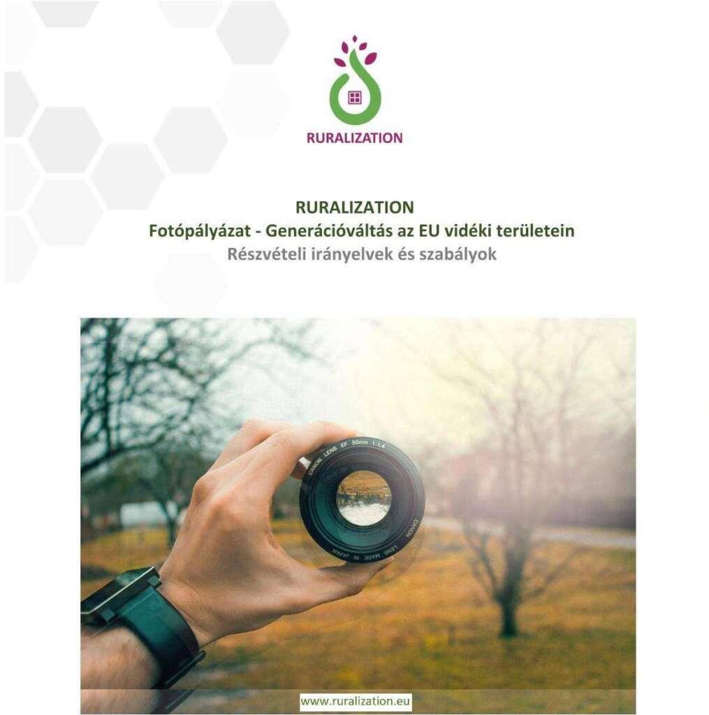 RURALIZATION Fotópályázat – Generációváltás az EU vidéki területein