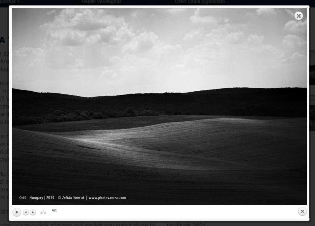 A fotó és a jóga találkozása – Fotótábor Vancsó Zoltán vezetésével
