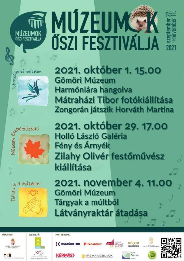 Múzeumok Őszi Fesztiválja 2021