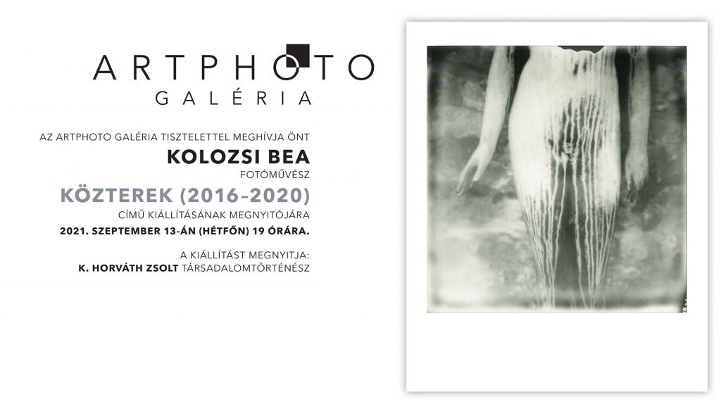 Kolozsi Bea: Közterek (2016 – 2020) című kiállítása