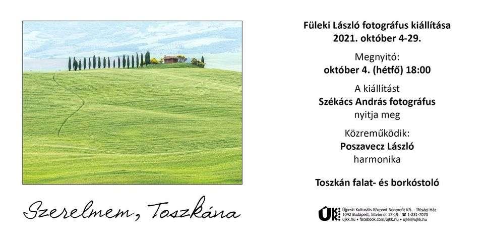 Szerelmem, Toszkána – Fotókiállítás megnyitó