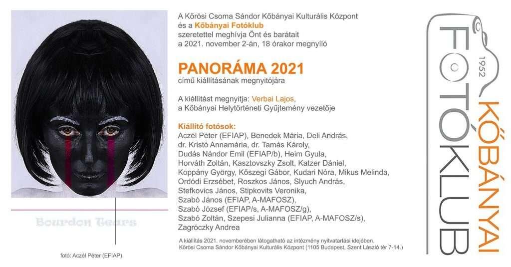 A Kőbányai Fotóklub éves kiállításának megnyitója