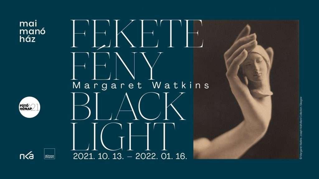 Kiállításmegnyitó – Margaret Watkins: Fekete fény