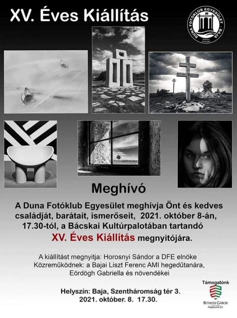 Duna Fotóklub Egyesület – XV. Éves Kiállítás